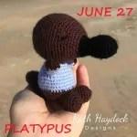 platypus crochet pattern