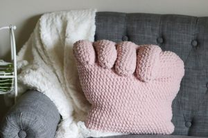 pink power pillow