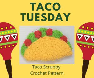taco scrubby crochet pattern