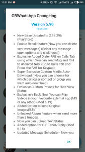 GB Whatsapp Apk Download Latest Version 5 90 For Android [ Updated