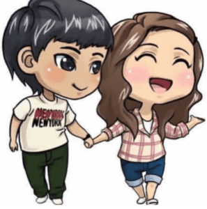 cute dp for boys and girls
