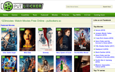 Unblocked Putlocker Proxy Sites