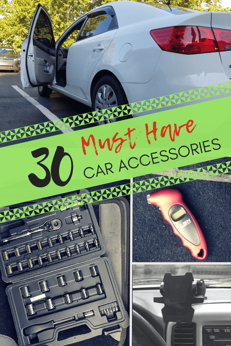 30 Must Have Car Accessories My First Car Guide