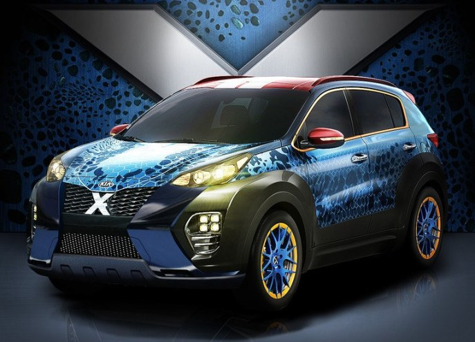 Kia X-Car front
