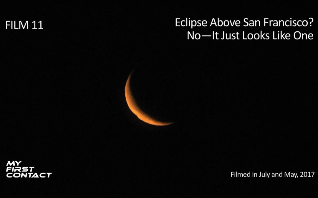 Eclipse Over San Francisco? No—It Just Looks Like One