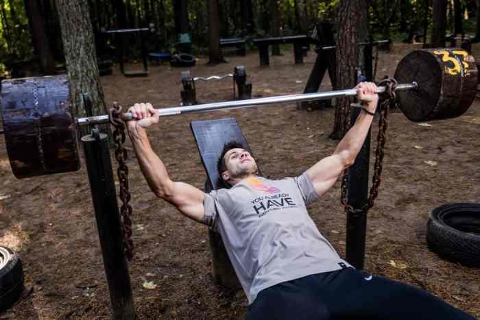 chest triceps myfitfreak
