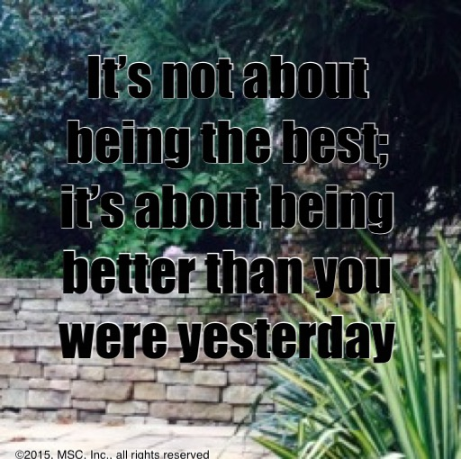 Motivation Image - Being Better