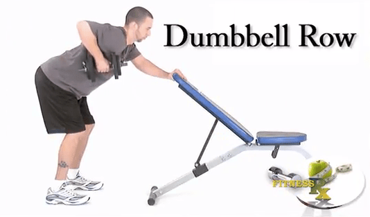 Standing Row with a Dumbbell