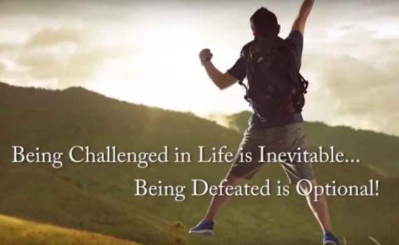 Being Challenged in Life