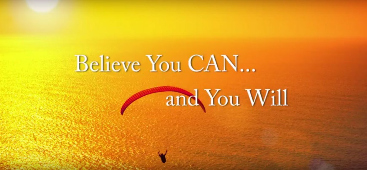 Motivation: Believe You Can