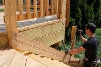 Deck Stair Railing Post Height. - Building & Construction ...