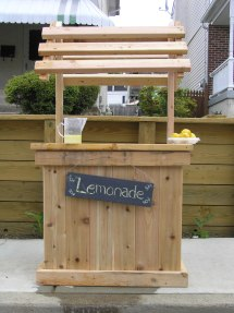 Build Perfect Lemonade Stand With Kids