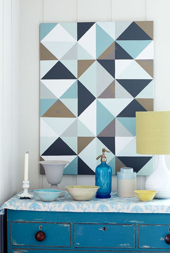 Painting patterns + bold paint designs are easier than you