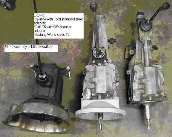 Flathead V8 To B W T 5 Conversion The Flat Spot