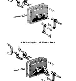 gearshift housing for 1949 to 51 ford [ 800 x 1223 Pixel ]