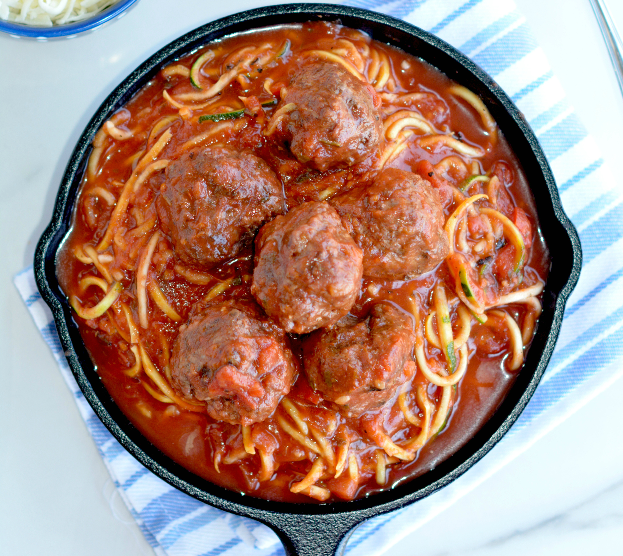Zoodles with Meatballs: A Quick and Easy Weeknight Meal
