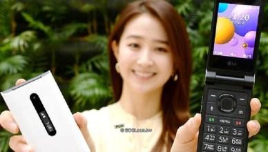 SOS快捷鍵、AI語音助理 LG Folder 2翻蓋手機發表
