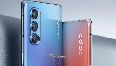 OPPO公布Reno4系列手機背蓋設計