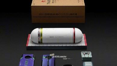 OPPO發表Ace2新世紀福音戰士與周邊配件聯名產品