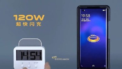 120W快充進入量產 iQOO、OPPO與小米手機可望年內導入