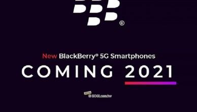 BlackBerry品牌授權美國公司 5G黑莓手機2021推出