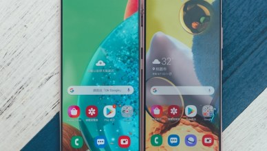 Samsung Galaxy A51 5G 智慧型手機開箱,4+1 鏡頭、大電量,支援 5G 行動通訊
