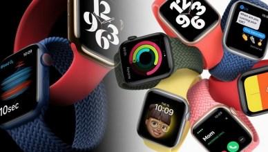 2020蘋果新品發表,Apple Watch Series 6/SE 全新功能與比較