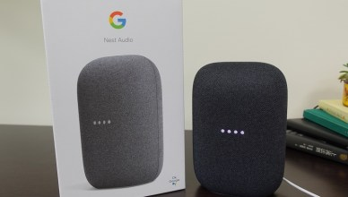 Google Nest Audio 加了高低音喇叭,買兩顆家裡變身成搖滾區!