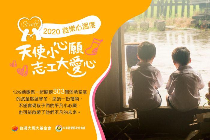 台灣大第五屆「微樂心溫度」冬季禮物募集熱情開跑