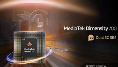 聯發科發表5G手機晶片天璣700 預告6奈米旗艦處理器近期推出