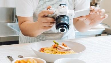 防疫居家中 創意玩影像,Canon 美食拍攝技巧大公開