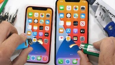 超瓷晶盾面板能耐燒灼!iPhone 12 Pro Max與12 mini耐用度測試