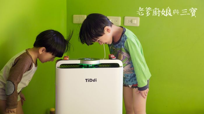 實際使用 TiDdi P680 智慧感應即時監控空氣清淨機