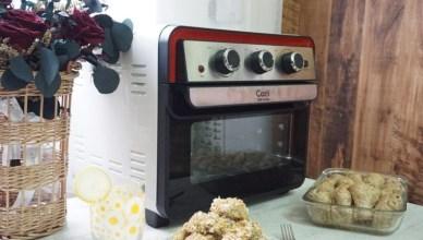 智能氣炸烤箱推薦!Coz!i 23公升大容量空氣炸烤箱AF66 含料理食譜,外型復古小家庭必備