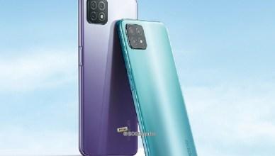 5G版OPPO A53中國發表 MTK天璣720搭配90Hz螢幕