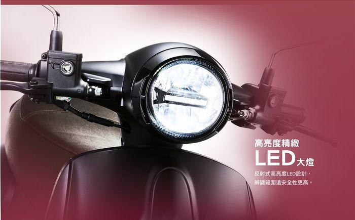 高亮度精緻LED大燈