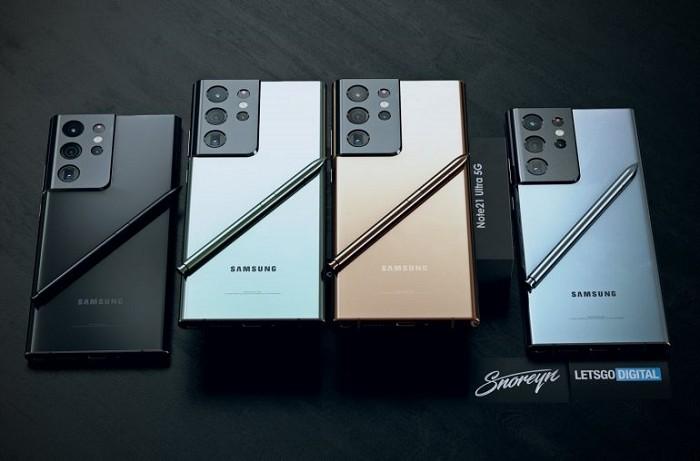 簡介 Samsung Galaxy Note 21系列