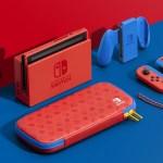「Nintendo Switch 瑪利歐亮麗紅 X 亮麗藍 主機組合」即將發售,主機組合隨附特別設計的便攜包