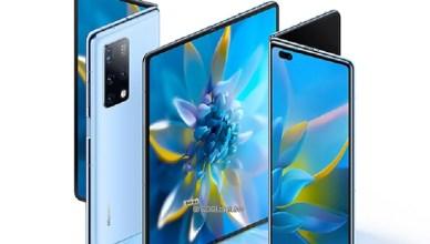 改用內折設計 HUAWEI Mate X2折疊螢幕手機發表