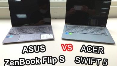 觸控筆電選購指南,ASUS Zenbook UX371EA 翻轉筆電 與 ACER SWIFT 5 SF514-55GT
