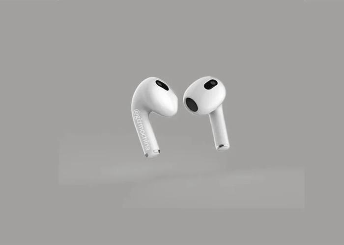 Apple AirPods 3 再曝光,傳3月下旬春季發表會登場