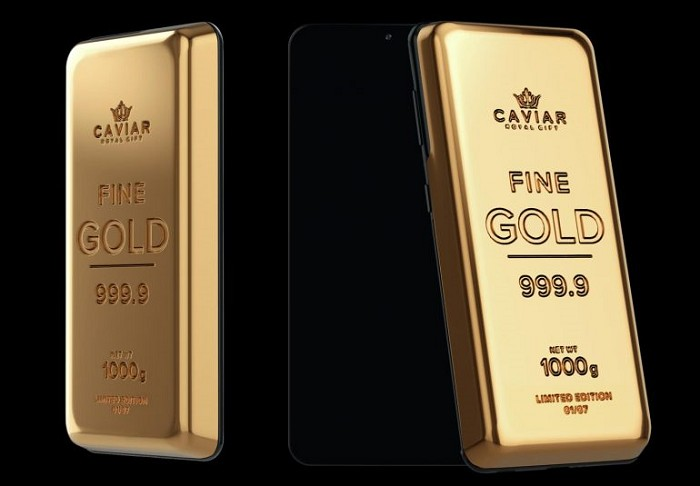 內含1公斤黃金的限量版智慧型手機