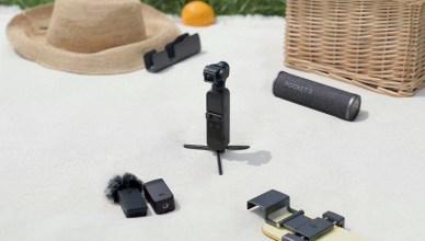 迷你相機 DJI Pocket 2 簡易開箱 超高畫質有它在,一手拍所有