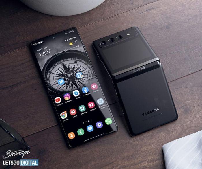 全新進化的三星Galaxy Z Flip 3可折疊智慧型手機