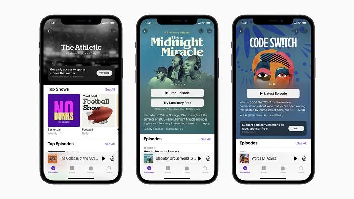 Apple Podcasts 訂閱制.開啟 Podcast 新篇章