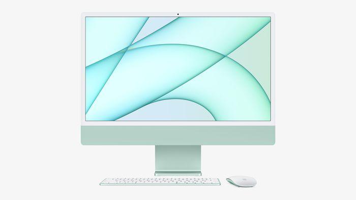 iMac 上加入 Touch ID 與同色系的配件