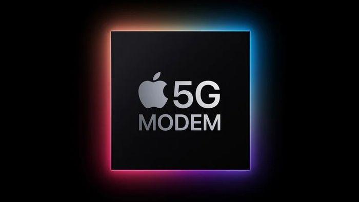 蘋果設計的5G調製解調器