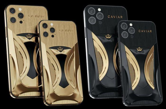 與特斯拉Model S限量版搭配的豪華版iPhone 12 Pro