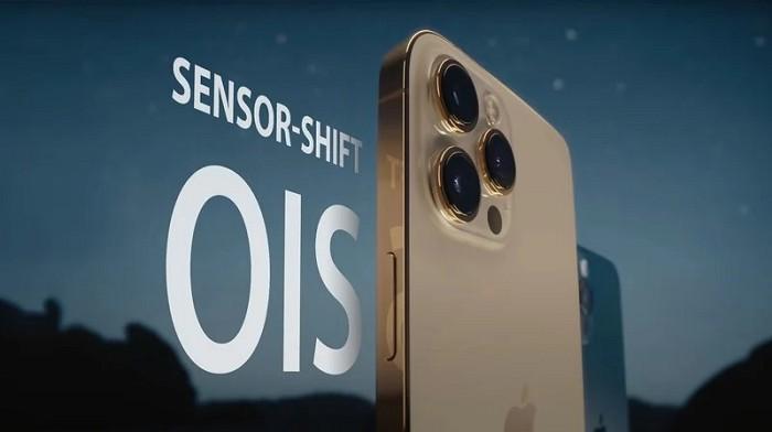 iPhone 13系列皆有望都具備「感光元件位移式穩定功能」