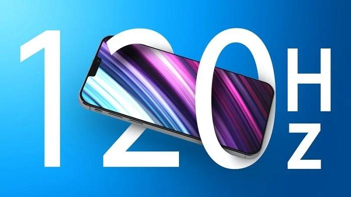 傳iPhone 13 Pro將使用三星生產的120Hz螢幕
